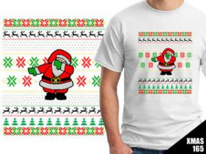 Santa Dapping Tshirt - Omaha Shirts Prices