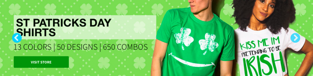 St. Patrick's Day Custom Shirts